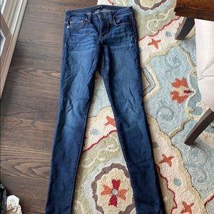 Size 26 joes dark wash skinny jeans